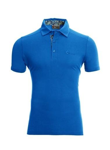Panthzer  Toluca Erkek  Polo T-Shirt Mavi